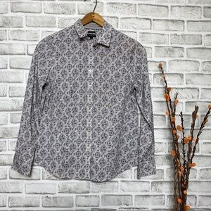 4/$25 Talbots wrinkle Resistant Button up shirt